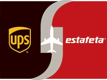 UPS and Estafeta logos