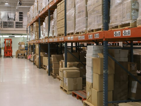 Warehouse for inventory, logistics and transportation