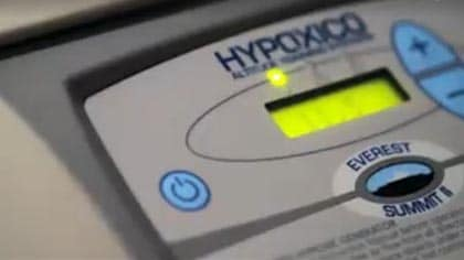 Every second counts in competitive sports--UPS helps Hypoxico deliver on-time.