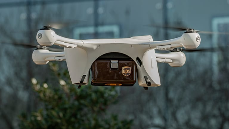 UPS Flight Forward Drone