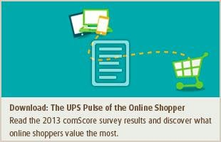 Download: The UPS Pulse of the Online Shopper