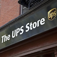 The UPS Store sign