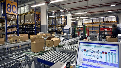 Distribution center | UPS - United States