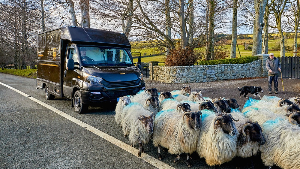 Parcel Delivery to Northern Ireland