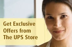 Get exclusive offers from The UPS Store