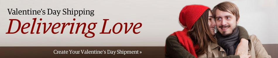 UPS Valentine's Day Shipping