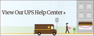 View Our UPS Help Center