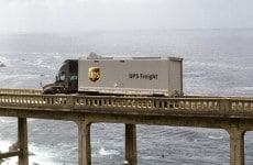 UPS Freight Truck Load