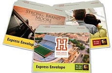 Customized UPS Express Envelopes