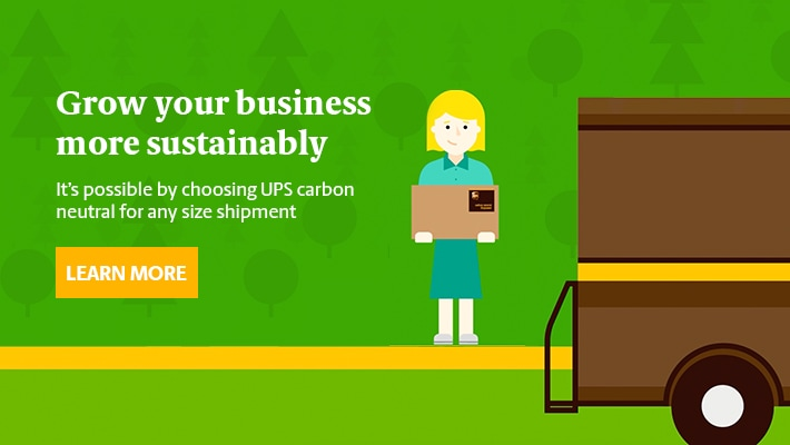 UPS Sustainability - Carbon Neutral