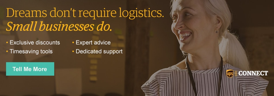 UPS CONNECT for Small Businesses