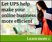 Let UPS help make your online business more efficient