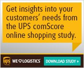 Get insights into your customers' needs from the UPS comScore online shopping study.