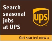 Search seasonal jobs at UPS