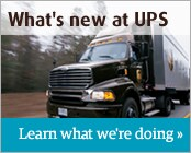 What's New at UPS