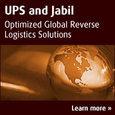 UPS and Jabil : Optimized Global Reverse Logistics Solutions