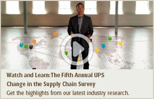 Watch and Learn:The Fifth Annual UPS Change in the Supply Chain Survey