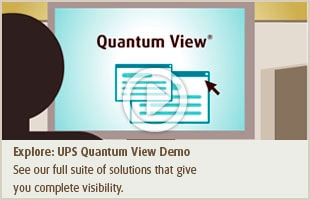 UPS Quantum View Demo