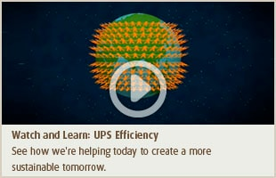 Watch and Learn: UPS Efficiency