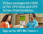Sign up for UPS My Choice