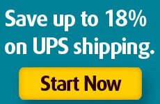 Save up to 16% on UPS Shipping