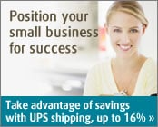 Take advantage of savings with UPS shipping, up to 16%