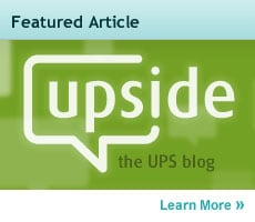 upside the UPS blog