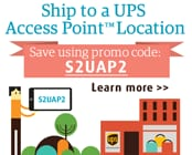 Ship to a UPS Access Point Location