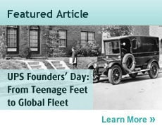 UPS Founders' Day: From Teenage Feet to Global Fleet