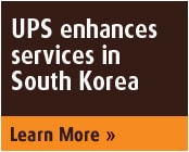 UPS Enhances Services in South Korea