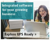 Get direct access to UPS's services through the UPS Ready® Program