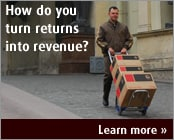 How do you turn returns into revenue?