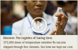 Discover: The Logistics of Saving Lives