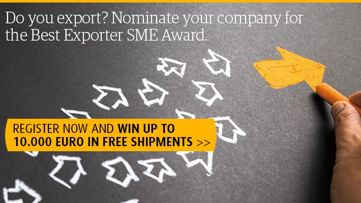 Nominate your company for the best Exporter SME Award