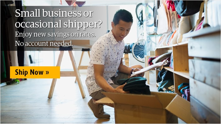 save on all your small business shipments