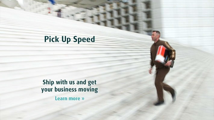 Ship with us and get your business moving