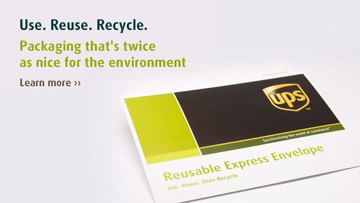 Use. Reuse. Recycle.