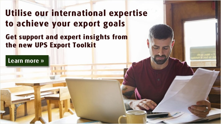Get support and expert insights from the new UPS Export Toolkit