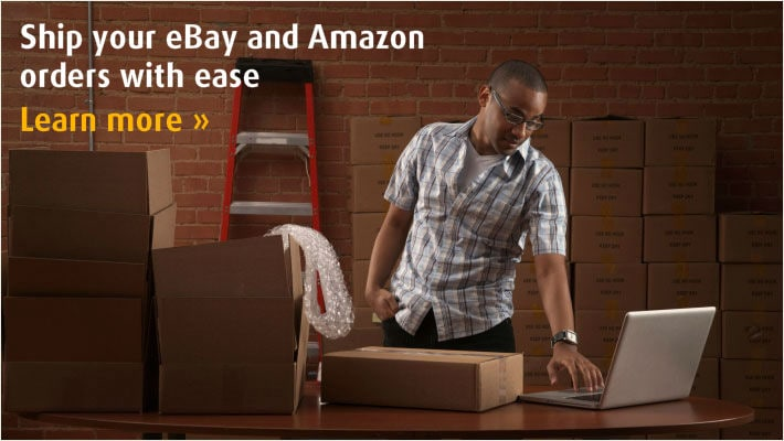 Ship Your eBay and Amazon Orders with Ease