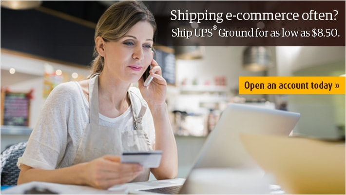 New UPS Ground shipping rates