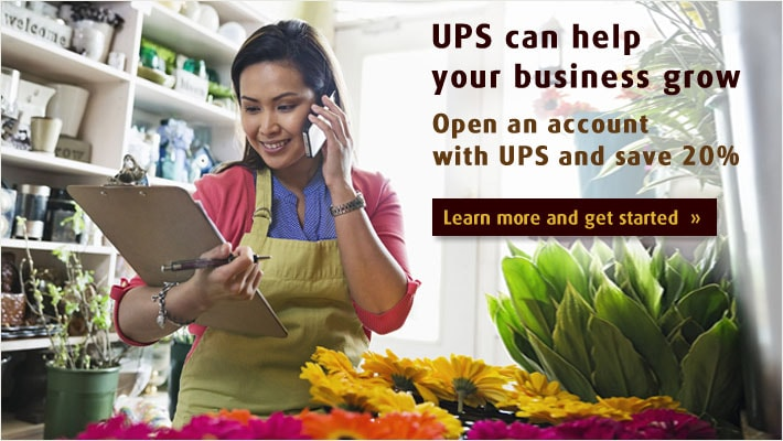UPS can help your business grow
