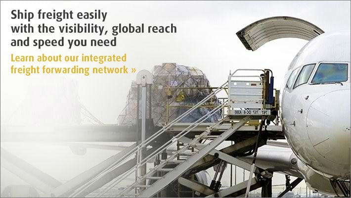 Learn about our integrated freight forwarding network