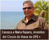 Meet Marlene Nazario, member of the UPS Circle of Honor