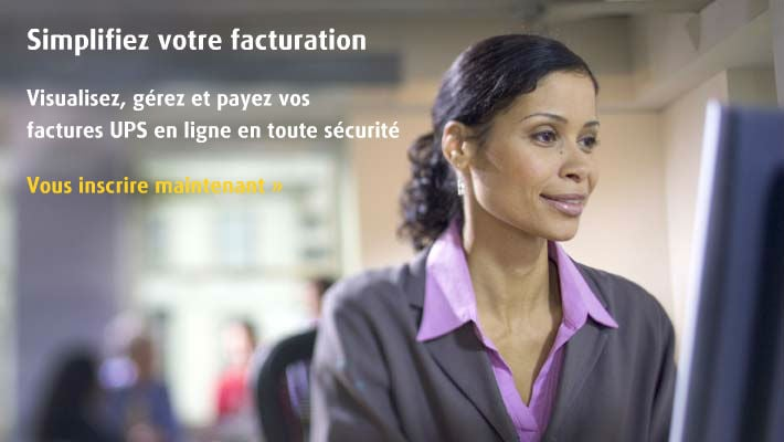 Centre de facturation UPS