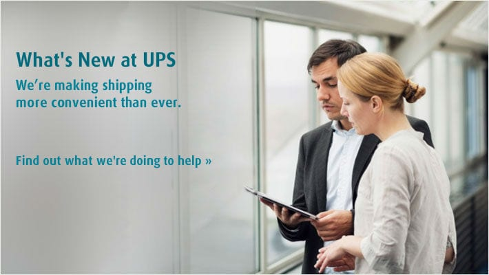 What's New at UPS?