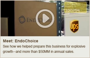 EndoChoice Scales Successfully with UPS