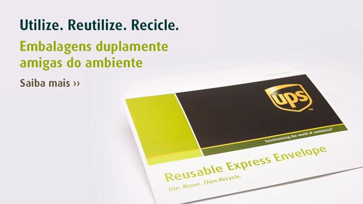 Utilize. Reutilize. Recicle.